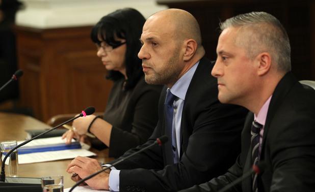 пресконференция в министерски съвет след обявеното от владимир путин спиране на проекта южен поток