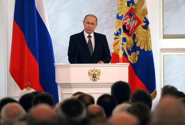 владимир путин пред федералното събрание на русия
