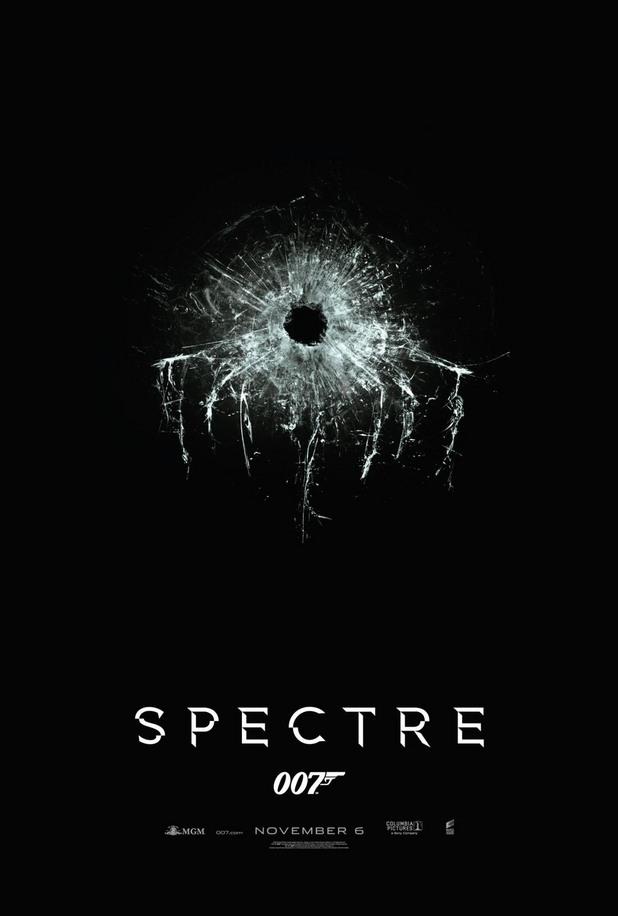 """първият постер на """"спектър"""""""