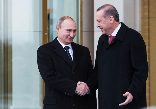 Владимир Путин и Реджеп Ердоган