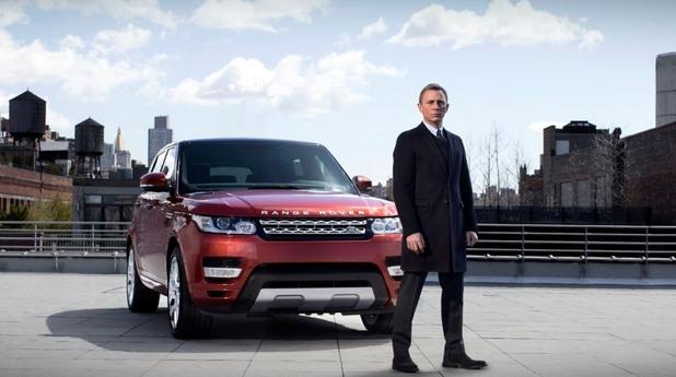 Даниел Крейг, или агент 007 пред Range Rover