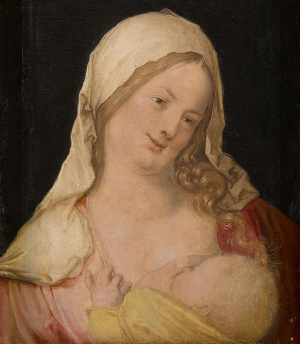 Картина на Алберт Дюрер - Мадона с дете