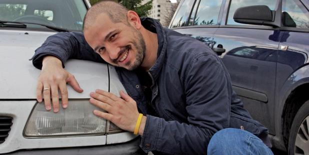 Симеон Колев пред своя Opel
