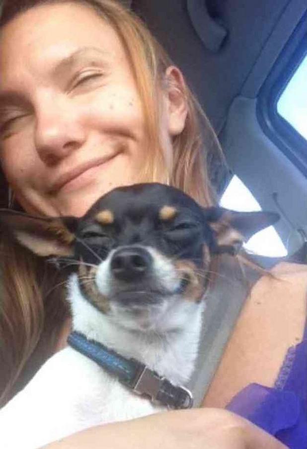 селфи с куче