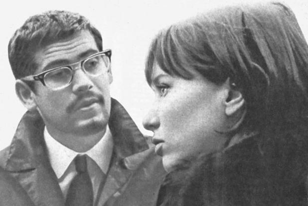 """Стефан Данаилов в """"С дъх на бадеми"""", 1967"""
