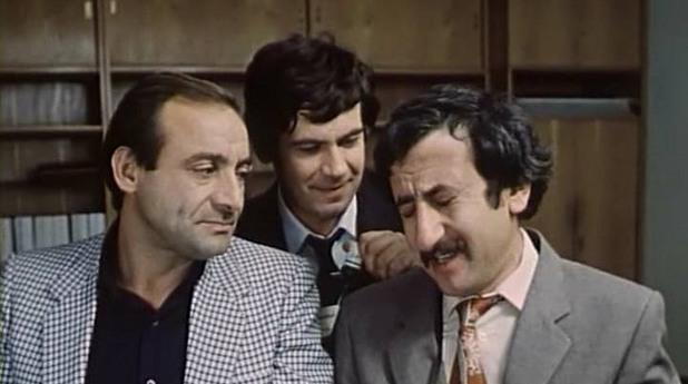 """Стефан Данаилов в """"Маневри на петия етаж"""", 1985 г."""