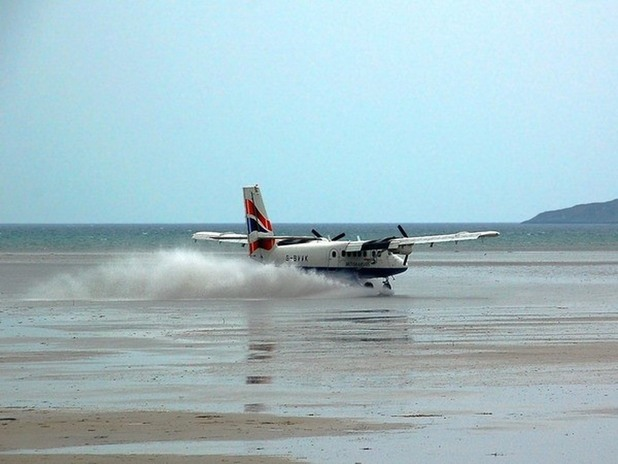 Barra International Airport, Scotland