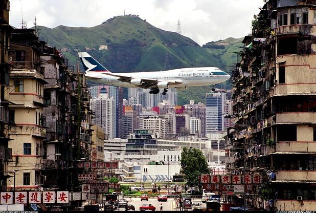 Летище Кай Так - Хонг Конг