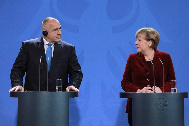 Среща на Бойко Борисов и Ангела Меркел