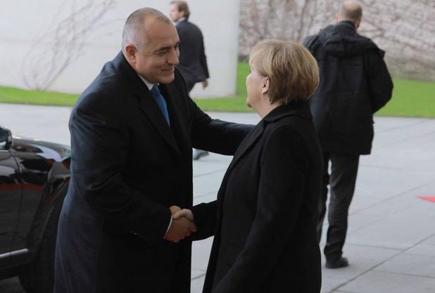 бойко борисов и ангела меркел в берлин