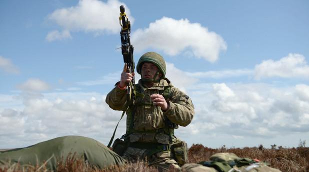 Британски пехотинец