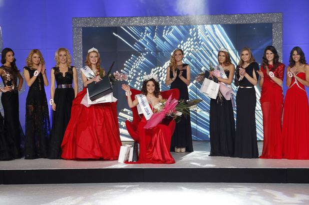 """Симона Евгениева стана """"Мис България""""2014"""