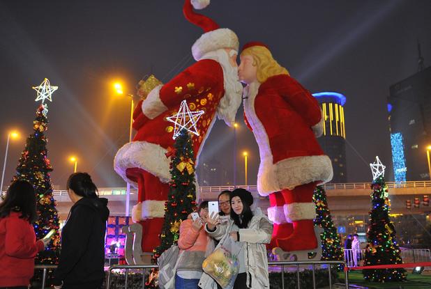 Коледа в Китай