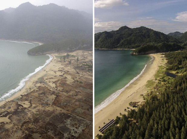 10 години след цунамито в Индонезия