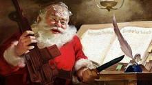 Дядо Коледа с оръжие