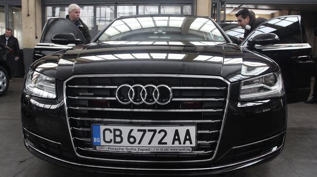 Национална служба за охрана показа новите леки автомобили за транспортното обслужване на министри, чуждестранни делегации и гости.