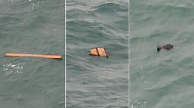 Останки от QZ8501 са намерени в океана