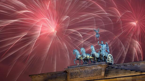 Нова година в Берлин