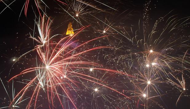 Нова година в Джакарта