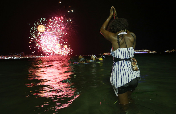 Нова година в Бразилия