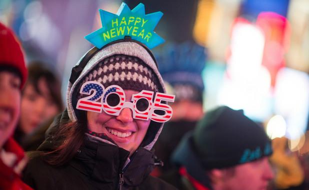 Нова година в Ню Йорк