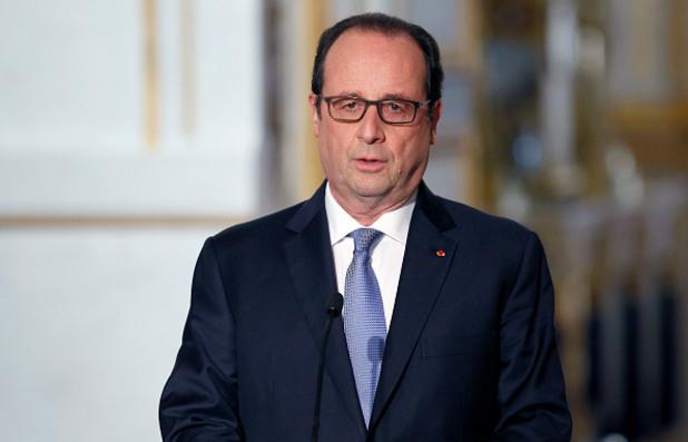 президентът на франция франсоа оланд