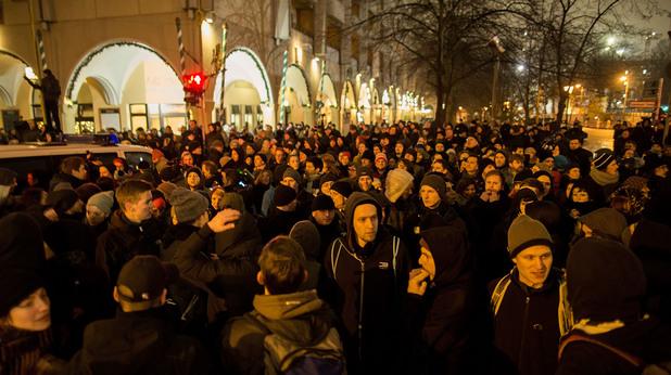 18 000 души на протест срещу исляма в Германия