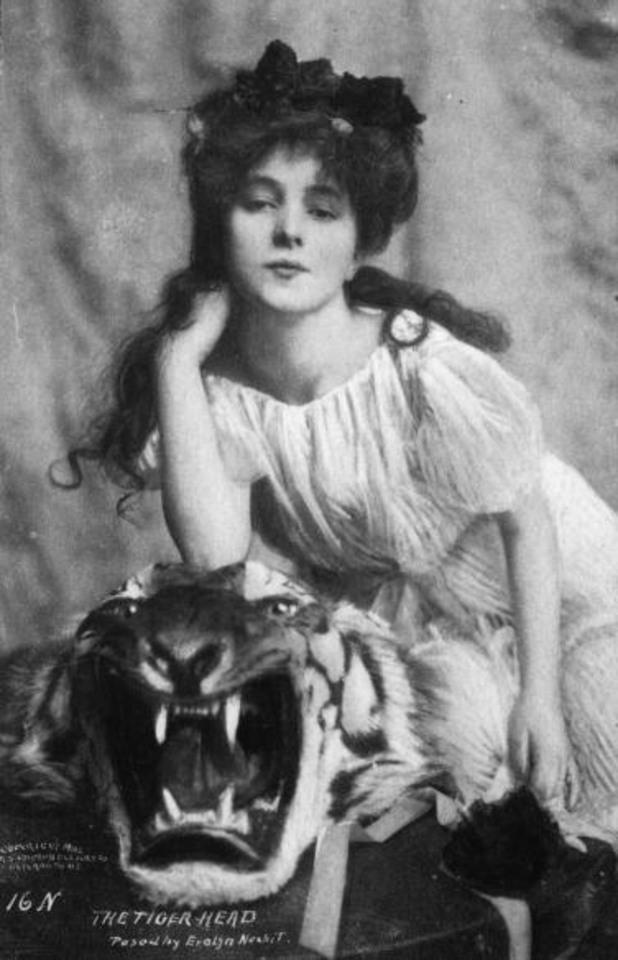 Евелин Несбит - първият модел