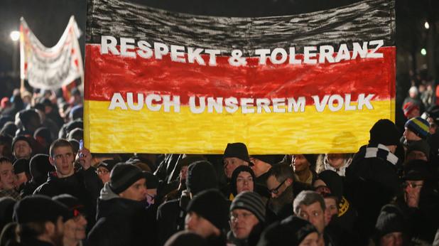 пегида, антиислямски протест в германия