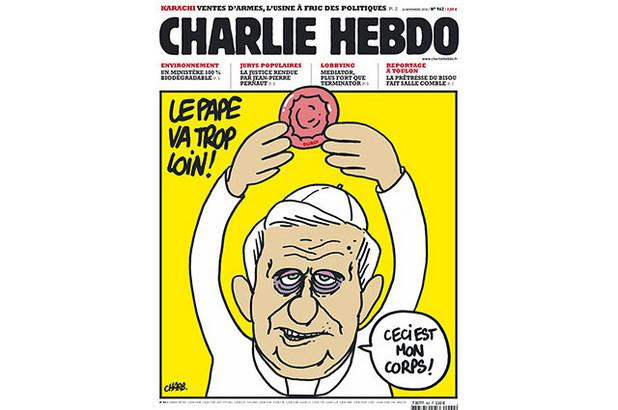 Корица на списанието Charlie Hebdo