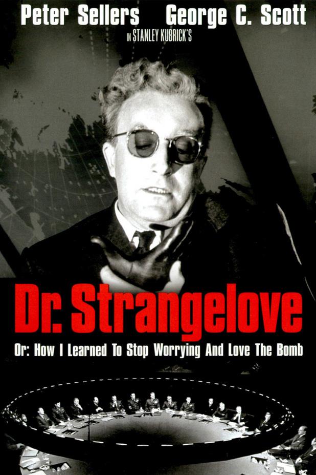 """""""Д-р Стрейнджлав или как престанах да се страхувам и  обикнах атомната бомба """""""