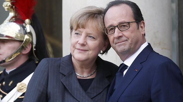 Франсоа Оланд и Ангела Меркел се срещат след атентата срещу Шарли Ебдо