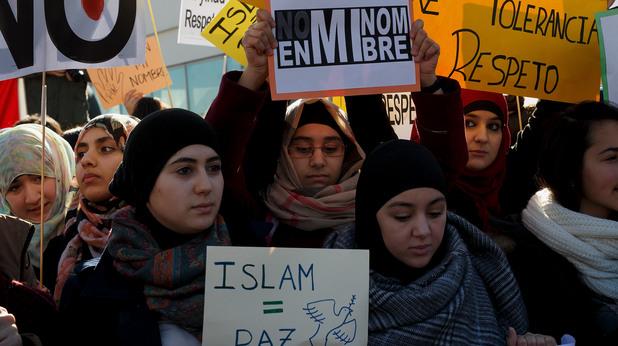 Мюсюлмани срещу терора, протест