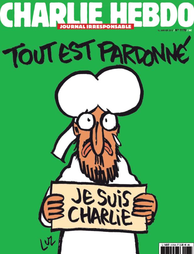 Charlie Hebdo излиза с карикатури на Мохамед