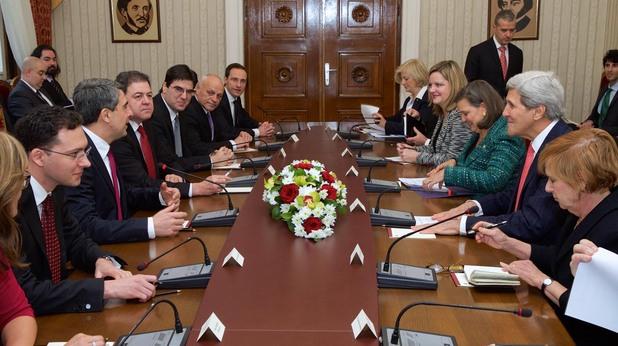 официално посещение на американския държавен секретар джон кери в софия