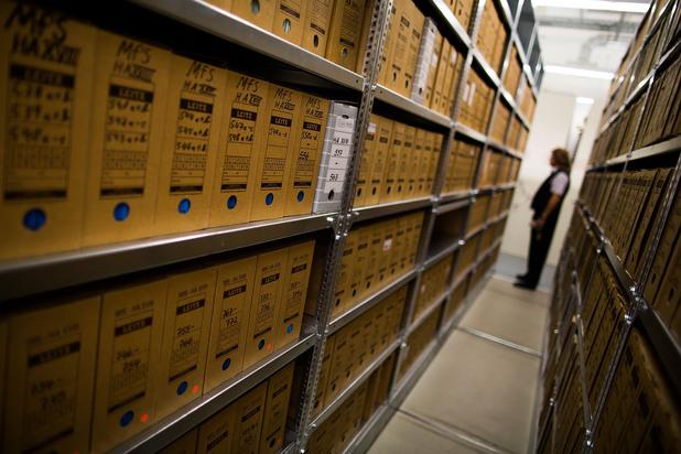 архивите на щази