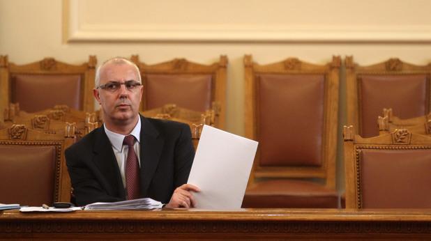 ВЕСЕЛИН ВУЧКОВ Министър на вътрешните работи
