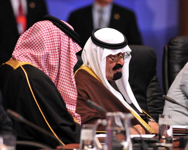 кралят на саудитска арабия абдула почина на 90 г.