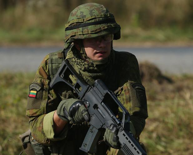 Войник на Литва