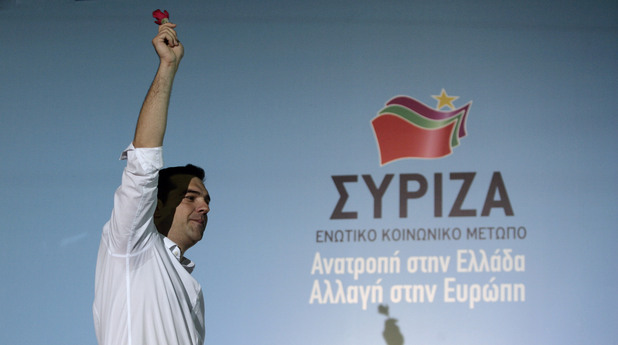 Алексис Ципрас, СИРИЗА