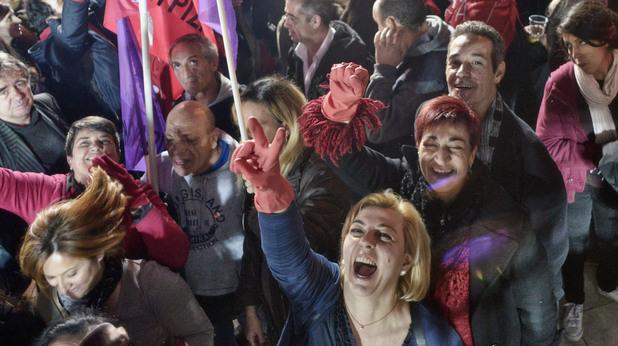 атина след победата на сириза