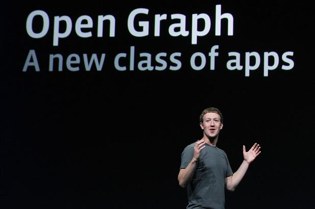 Марк Зукърбърг представя през 2011-та година Open Graph, с което цели Facebook чрез своята платформа да създаде най-подробната и обширна социална карта в света