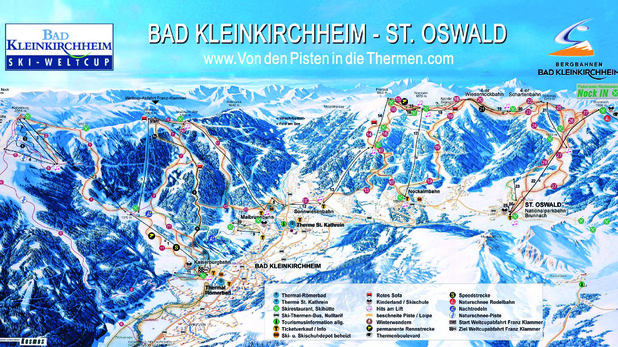 Ски зоната на Бад Клайнкирххайм
