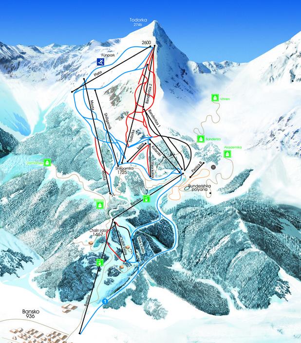 Ски зоната на Банско