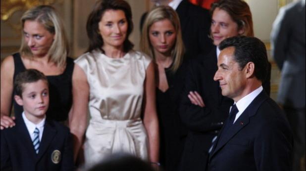 Никола Саркози и Сесилия