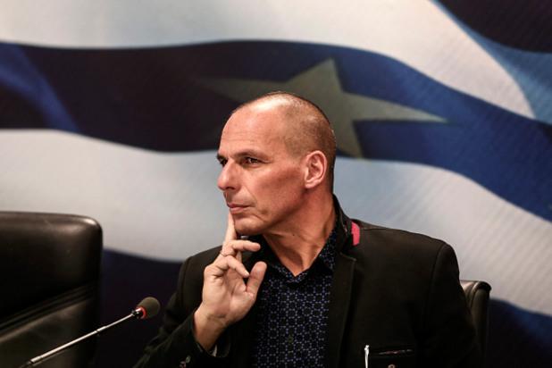 финансовият министър на гърция янис варуфакис