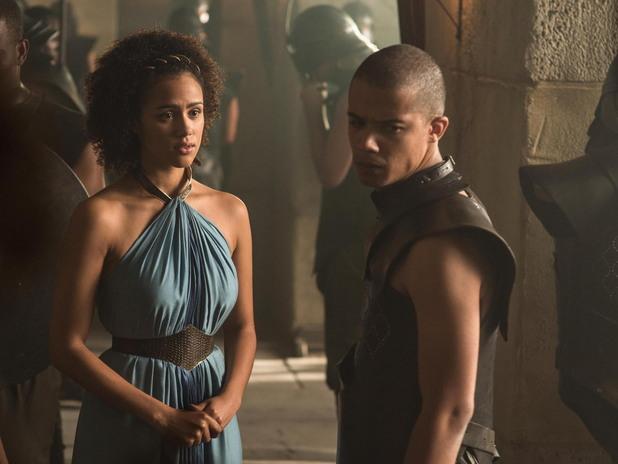 мисандей и грей уорм в пети сезон на игра на тронове