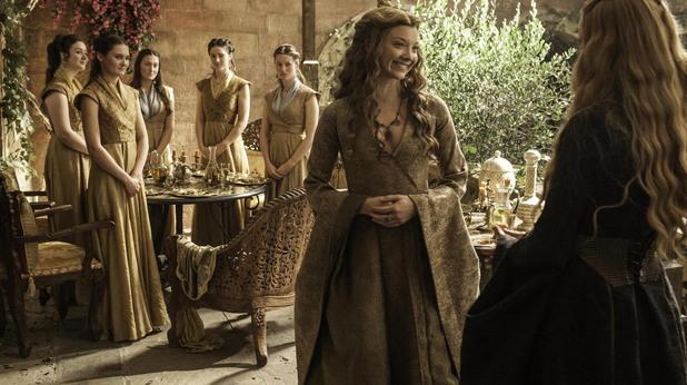 марджери тирел и церсей ланистър в пети сезон на игра на тронове