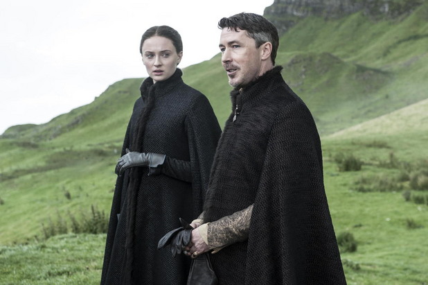 санса старк и литълфингър в петия сезон на игра на тронове