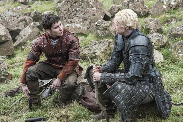 подрик пейн и бриен в петия сезон на игра на тронове